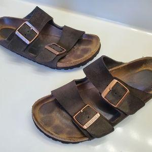 Birkenstock Arizona Soft Footbed Sandals (7.5)